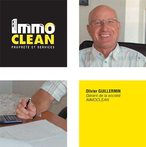 Olivier Guillermin Gérant de la société Immo Clean